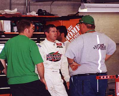 Bobby Labonte and crew