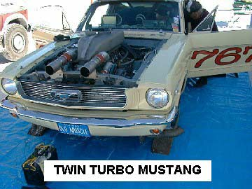 Mustang Twin Turbo