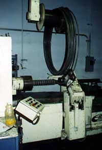 Mandrel-wound coil springs