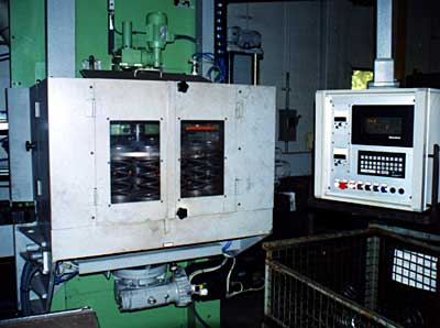 End grinding machine