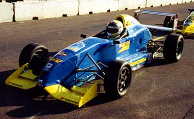 Front view of Bowman chassis