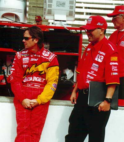 Jimmy Vasser and Julian Robertson