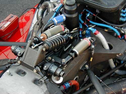 Phoenix Test And Dallara Mono Suspension