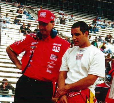 Bill Pappas and Juan Montoya