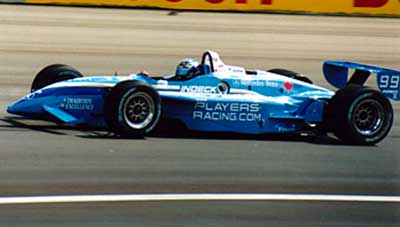 Greg Moore on track