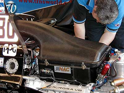 Engine air box
