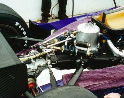 Riley and Scott rear suspension